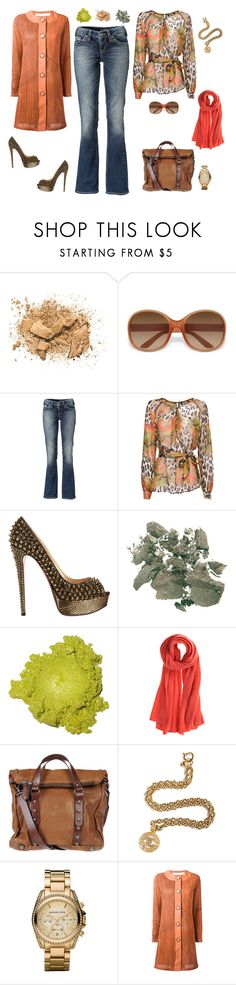 """Sans titre #26"" by carolinesaracosa77 on Polyvore featuring mode, Napoleon Perdis, Prada, Silver Jeans Co., MANGO, Christian Louboutin, Clarins, Calypso St. Barth, MuuBaa et Chanel"