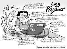 Mice Cartoon, Komik Jakarta - April 2015: Sang Programer
