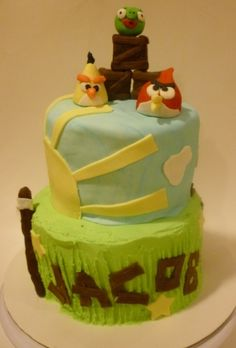 Angry Birds Birthday By JennW on CakeCentral.com