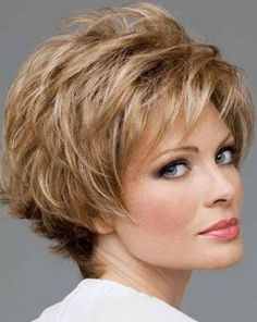 Image result for Fine Hair Style Cuts for Women Over 50 Short Hair Gray
