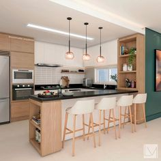 Kitchen Cabinet Design, Kitchen Remodel, Kitchen Decor, Kitchen Inspiration Design, Kitchen Room Design, Kitchen Furniture Design, Home Kitchens, Modern Kitchen Design, Kitchen Unit Designs