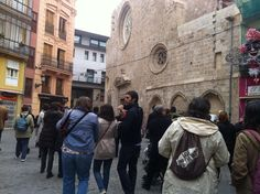 Iglesia de sta.Catalina, al lado del c/tapiners. Valencia. #caminsgremials