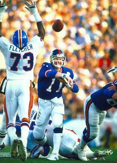 Phil Simms | Jan. 25, 1987 Giants vs. Broncos in Super Bowl XXI