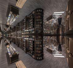 Gallery of Zhongshuge Bookstore / X+Living - 19