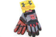 Under Armour Bioform Gripper Men's Gray/Black Grip Work/Training #Gloves