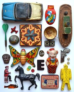 vintage toys ✭ collection