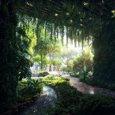 In beeld: plannen voor luxehotel in Dubai met eigen regenwoud