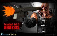 onesixthscalepictures: World Box Resident Evil 3 NEMESIS Resident Evil Nemesis, Pop Toys, Sideshow Collectibles, Sport Wear, Gi Joe, Avengers, Marvel, Hero, Female