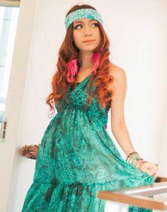 Bluseagal - Magic Dark Gypsy Dress, $81.00 (http://www.bluseagal.com/products/magic-dark-gypsy-dress.html)