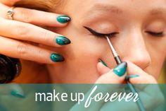 Make Up Forever #MBFWSwim 2013