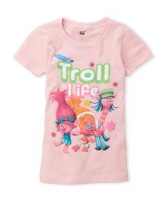 Trolls (Girls 4-6x) Graphic Tee
