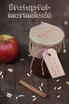 Bratapfel-Marmelade Vegan Christmas, Christmas Brunch, Christmas Baking, Merry Christmas, Fruit Recipes, Apple Recipes, Baking Recipes, Chutneys, Sandwich Bar
