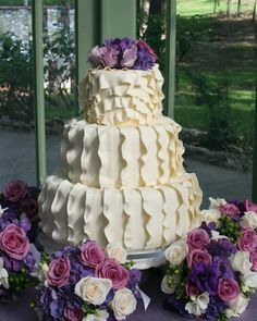 Carrie's Cakes- ruffle cakes