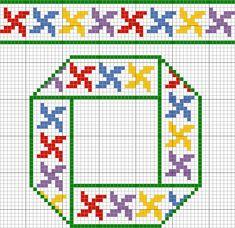123 Cross Stitch, Cross Stitch Patterns, Knitting Patterns, Graph Paper, C2c, Hand Embroidery Designs, Cross Stitching, Quilt Blocks, Pattern Design