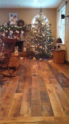 Reclaimed Wide Plank Flooring -  Mixed Hardwoods, Beech, Birch & Maple