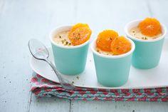 pixie tangerine and fennel pots de creme