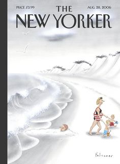 The New Yorker Magazine, Aug 2006 ~ Cover By Ian Falconer
