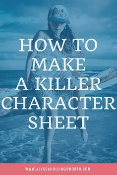 How to Make a Killer Character Sheet: Tutorial with pictures!