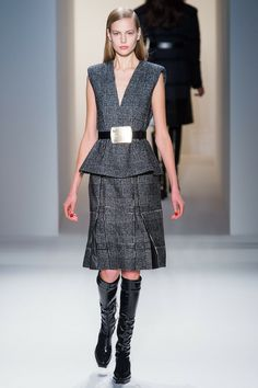 Oh Mundo Cruel! » Tartán para invierno  Calvin Klein Collection  F/W 13