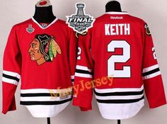 Only $34.88 please email me at maryjerseyelway@gmail.com for Blackhawks 2 Duncan Keith Red 2015 Stanley Cup Stitched NHL Jersey