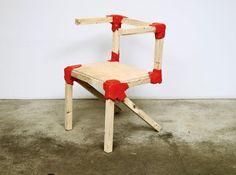 Jerszy Seymour Design . workshop chair, 2009