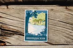 Art print of the Susquehanna River Printed on Accent Opaque uncoated cover Large art print is x image area is x Small art print is 5 x 7 Art print only, mat/frame not included. Joseph Smith History, Susquehanna River, Large Art Prints, Small Art, Above And Beyond, Is 11, Ecology, Natural Beauty, Coastal