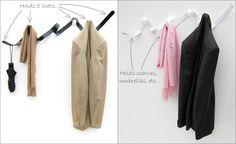 Ribbon Coat Hook