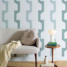 Paint a geometric pattern
