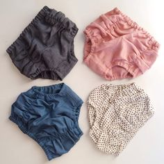 Handmade vintage bloomers from Hubble & Duke. love their colour palettes.