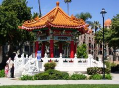 Chinese Monument, Downtown Riverside