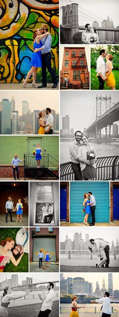 NYC engagement photo ideas
