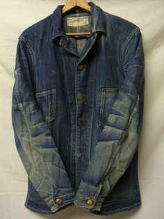 Stronghold....100 year old Denim