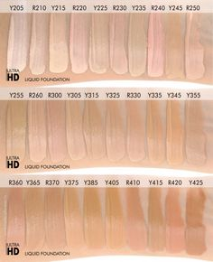 Review, Swatches: MAKE UP FOR EVER Ultra HD Liquid ...