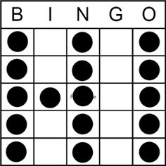photo about Printable Bingo Patterns referred to as 7 Great BINGO pictures inside of 2013 Jackpot bingo, Bingo layouts