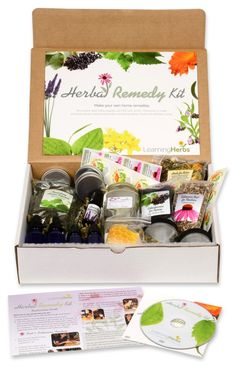 The Herbal Medicine Making Kit - Your starter kit to DIY health and well-being!