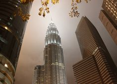 Petronas Towers KL-looking up by janetvincent, via Flickr