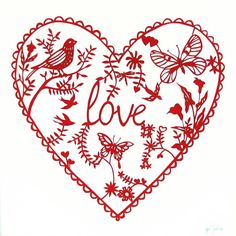 Love is in the air ❤ papercut art Wolverhampton Wanderers Fc, Wedding Drawing, Love Heart, Paper Cutting, Paper Art, Heart Shapes, Stencils, Valentines, Drawings
