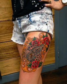 Luke Wessman - Self Made Tattoo Artist - Wooster Street Social Club NYC ship in a bottle tattoo