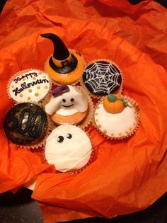Mes petits cakes d halloween