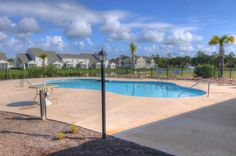 Pool amenity.  Heron Bay at Barefoot - Golf Condo Townhomes for Sale.  #heronbay  http://www.barefootrealty.com/heron-bay-townhomes/
