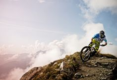 Rider: Andi Wittmann | Location: Laax | Photo: Dominic Zimmermann | Spring / Summer Collection 2014 | www.zimtstern.com | #zimtstern #spring #summer #mens #collection #action #mountain #bike #trail #downhill #clothing