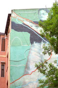 Murales en fachadas de Bilbao