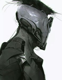 ArtStation - Oldie but goodie, Anthony Jones Character Concept, Character Art, Concept Art, Character Design, Alien Concept, Anthony Jones, Ghost In The Machine, Suit Of Armor, Body Armor