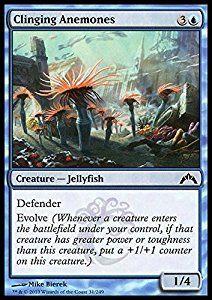 Amazon.com: Magic: the Gathering - Clinging Anemones (31) - Gatecrash: Toys & Games