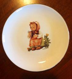 Hummel Plate Germany Make A Wish by CoffeeCreekVintage on Etsy