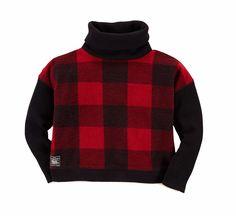 NWT Ralph Lauren Girls Plaid Fleece Turtleneck Pullover Sweater #RalphLauren #Pullover #ChristmasDressyEverydayHolidayPageantParty