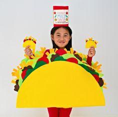 hello, Wonderful - DIY NO-SEW FELT TACO COSTUME FOR KIDS