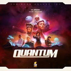 Quantum Game - This game is very cool...BUT the dice that come with it sucks...so...have a set handy.
