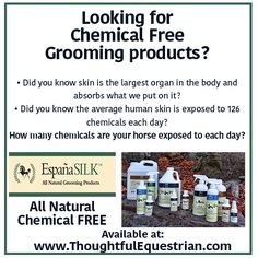Awesome All Natural, Chemical Free grooming products for your animals.