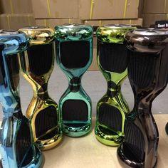 Shiny Colors 2 Wheel Hoverboard Skywalker Hoover Board